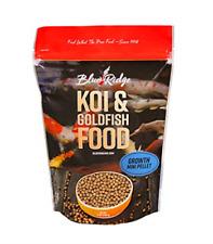 New listing Blue Ridge Fish Food Pellets [2lb] Koi and Goldfish Growth Formula, Mini Pellet,