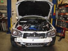 CXRacing Intercooler kit + Y Pipe For 98-05 Lexus IS300 2JZ-GTE Twin Turbo Blue