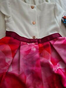 Girls ted baker dress 12-18 months