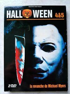 Coffret 2 DVD Halloween 4 et 5 Comme Neuf