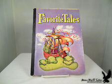 Vintage Favorite Tales Grimm's Fairy Tales Children's Book