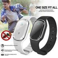 New Mini Ultrasonic Anti Mosquito Insect Pest Bug Repellent Wrist Band Bracelet