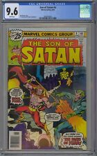 Son of Satan #4 CGC 9.6 NM+ Wp Marvel Comics Bronze Age 1976 High Grade Copy