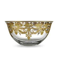 Arte Italica Vetro Gold Serving Bowl - Vg3765