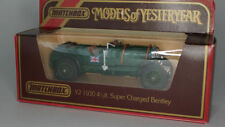 Matchbox Models of Yesteryear Bentley Diecast Cars, Trucks & Vans