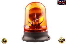Rotating Flashing Amber Hazard Beacon 24v Screw Mount High Quality