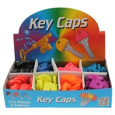 RUBBER KEY CAP KEY TOPS ASSORTED Packs of 10