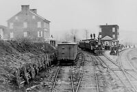 1863 Abraham Lincoln Train PHOTO Hanover Junction, Gettysburg Battle Civil War
