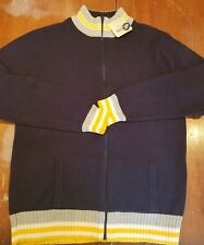 Canyon River Blues Men's Zippered Sweater NWT