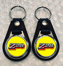 Z28 KEYCHAIN SET 1978 2 PACK YELLOW FOB