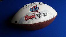 COORS LIGHT NFL SUPER BOWL COMMEMORATIVE Wilson XLII FOOTBALL-  Arizona
