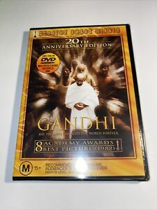 Gandhi DVD R4  - New Sealed -