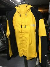 NEW 2001 Vintage North Face Men's XL Gore Tex XCR Mountain Jacket Yellow/Black