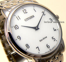 CITIZEN ECO DRIVE STILETTO ULTRA THIN SAPPHIRE STAINLESS STEEL AR1130-81A