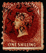 South Australia Scott 36 (1869) Used F-G, CV $25.00 M
