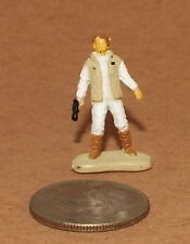 Very Small Micro Machine Star Wars Figure of Princess Leia in a Vest