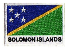 Patch écusson Ecusson patche drapeau ILES SALOMON 70 x 45 mm