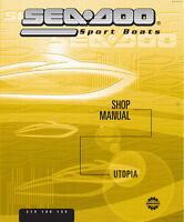 Sea Doo Utopia 205 Trailerable Boat Cover Burgundy Maroon 2002 2003 2004