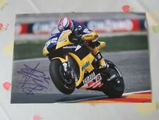 James TOSELAND Motorcycle Rider Original Hand Signed 12 x 8 inch Photo no 2
