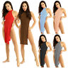 Women's Sleeveless Backless Bodycon Evening Party Cocktail Club Short Mini Dress