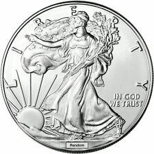 Ase American Silver Eagle 1 oz Silver bullion .999 Free Airtite Case Gem Bu, Fs!