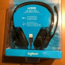 Logitech H390 USB Noise cancellation Computer Headset