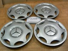 Original Mercedes Benz C Klasse Radkappen Zoll 15 Radzierblende 4 Stück ArNr2298