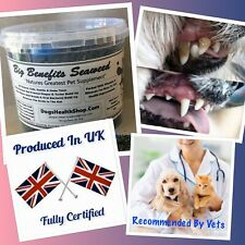 Dogs PlaqueOff Remover 500g Cure Bad Breath Certified Organic PREMIUM PRODUCT