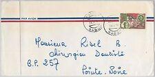 Postal History Gabonese Stamps