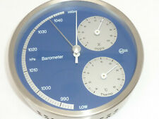 Barigo Germany Barometer Hygrometer Thermometer Weather Station Stainless Steel