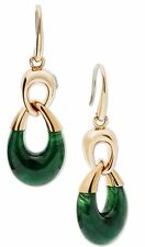 "Michael Kors ""Fashion""  Autumn Luxe Gold Tone Jade Drop Earrings - MKJ5770710"