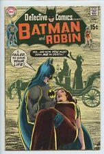 1970 DC DETECTIVE COMICS #403 NEAL ADAMS , ROBIN BACK UP STORY VF-   S3