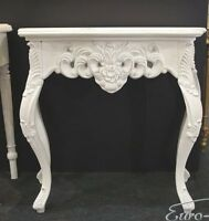 Wall Bracket White Sideboard Baroque Antique Console Large Side Table