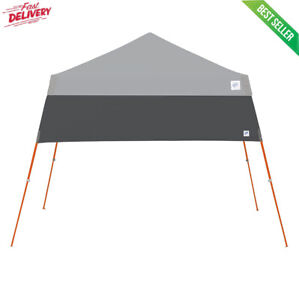 Instant Canopy Tent 10x10 Half Wall Outdoor Pop Up Patio Beach Sun Camping Shade