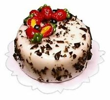 Dollhouse Miniature - Rocky Road Cake - 1:12 Scale