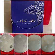 4 IMAGE PLATES M2 Konad Stamping Nail Art Design Nails