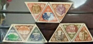 1908 MESSINA ITALY earthquake 11 Charity Stamps GERMAN 2-color issue mint OG*NH