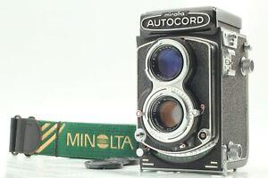 【TOP MINT】 Minolta AUTOCORD III Rokkor 75mm f/3.5 TLR Film Camera w/Strap ✈JAPAN