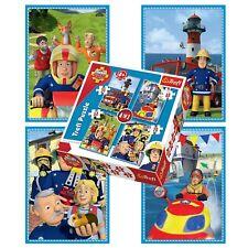Trefl 34269 Fireman Sam's Team 4-in-1 Puzzle