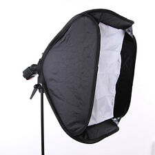 "24"" 60cm Softbox + Elinchrom Mount Godox S Flash Speedlite Light Bracket Holder"