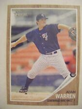 ADAM WARREN 2011 RC Topps Heritage Minor baseball card QTY #170 YANKEES CUBS UNC