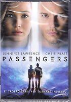Dvd **PASSENGERS** con Jennifer Lawrence Chris Patt nuovo 2016