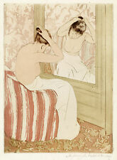 Mary Cassatt Reproductions: The Coiffure - Fine Art Print