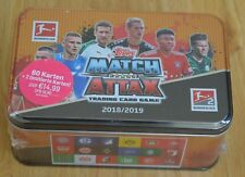 Topps Match Attax 18/19 Mega Tin Box inkl. 2x limitierte Auflage 2018/2019 OVP