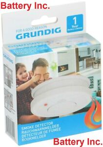 GRUNDIG Smoke Detector With Battery Included - NEW