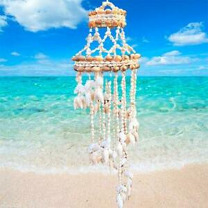 Conch Sea Shell Wind Chime Hanging Ornament Wall Decoration Creative Hanging Pen