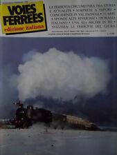 Voies Ferrees 19 1985 Storia Ferrovia Circumetnea - ALn 668 Rivarossi - GIURA