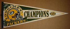 1996 Green Bay Packers NFC Champions NFL Football Pennant