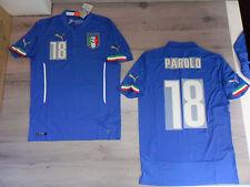 FW14 PUMA M INICIO ITALIA 18 PAROLO CAMISETA MUNDIALES SHIRT JERSEY
