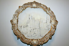 Neuschwanstein Castle ceramic wall hanging with signature  3157 with  markings